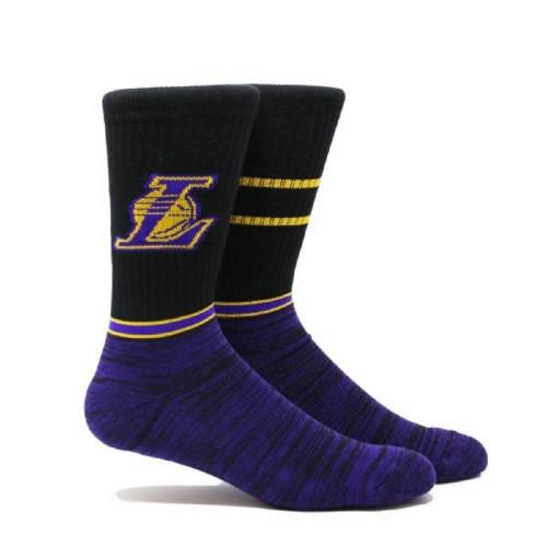 Black Lakers socks