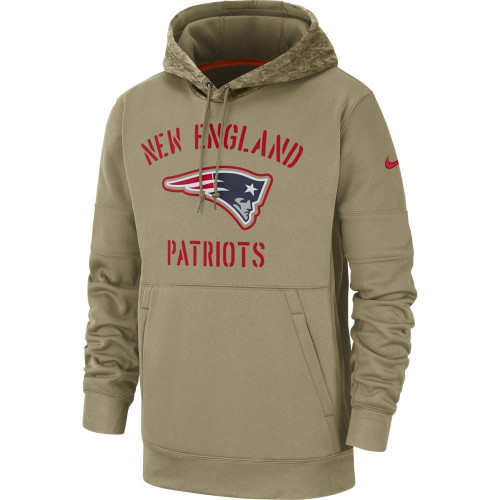 New England Patriots 2019 Nike NFL Salute to Service Hoodie
