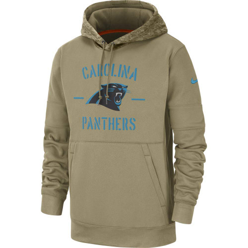 Carolina Panthers 2019 Nike NFL Salute to Service Hoodie