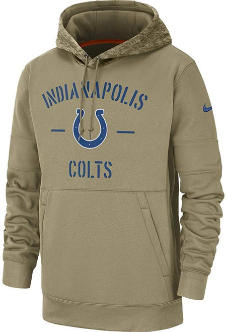 Indianapolis Colts 2019 Nike NFL Salute to Service Hoodie