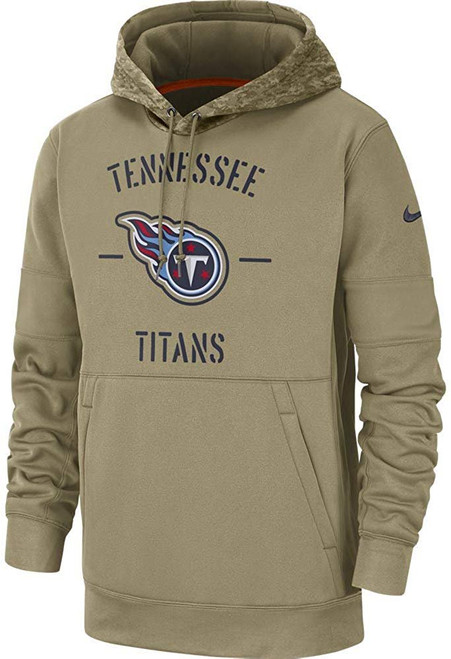 Tennessee Titans 2019 Nike NFL Salute to Service Hoodie
