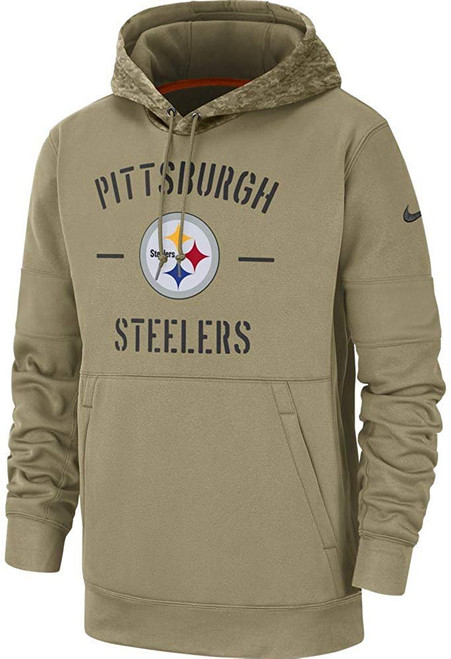 Pittsburgh Steelers 2019 Nike NFL Salute to Service Hoodie