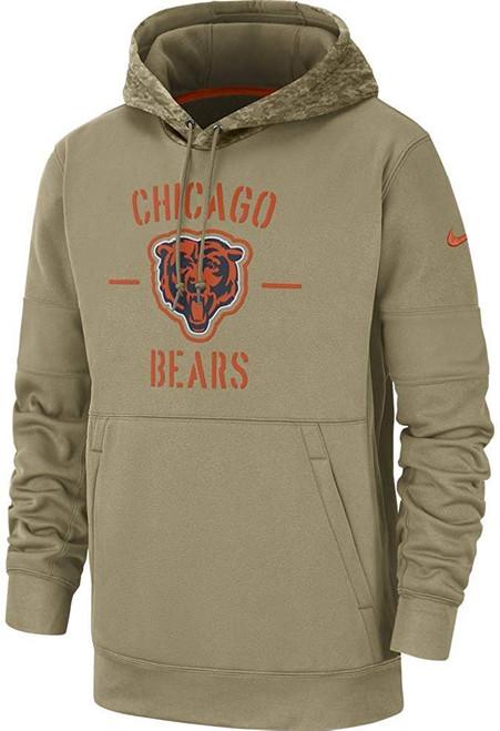Chicago Bears 2019 Nike NFL Salute to Service Hoodie