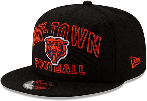 CHICAGO BEARS CHI TOWN New Era NFL 9FIFTY Snapback Hat - Black