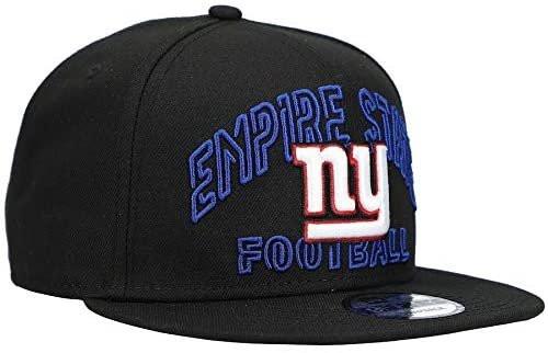 NEW YORK GIANTS EMPIRE STATE New Era NFL 9FIFTY Snapback Hat - Black