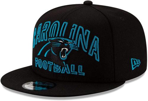 CAROLINA PANTHERS New Era NFL 9FIFTY Snapback Hat - Black