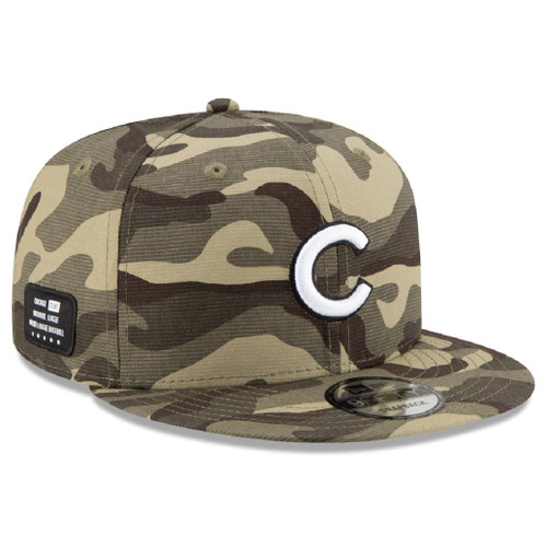 MLB Chicago Cubs 2021 Armed Forces Day 9Fifty 950 Snapback Hat
