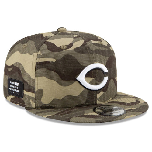 MLB Cincinnati Reds 2021 Armed Forces Day 9Fifty 950 Snapback Hat
