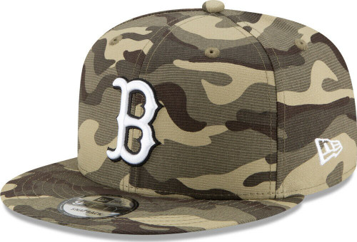 MLB Boston Red Sox 2021 Armed Forces Day 9Fifty 950 Snapback Hat