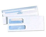 Double Window Self Seal Tinted Envelopes