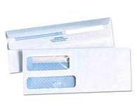 Double Window Self Seal Tinted Envelopes