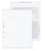 Pressure Seal Cheques - Z Fold Open Format