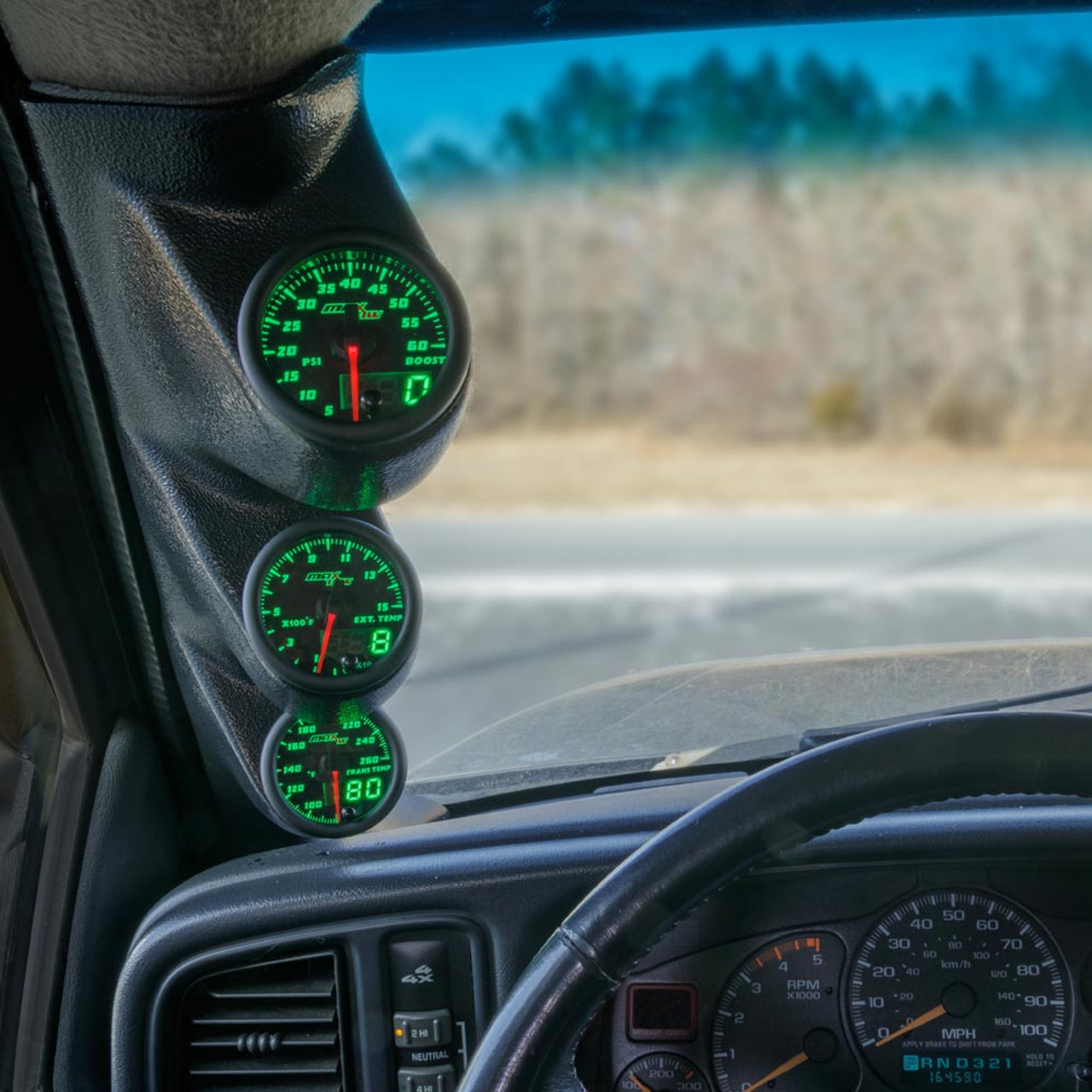 00-06 Chevrolet Silverado Duramax MaxTow Custom Gauge Package | Chevrolet Silverado Lmm Fuel Gauge Wiring |  | MaxTow Gauges