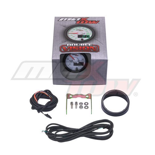 White & Green MaxTow 30,000 PSI Fuel Rail Pressure Gauge Unboxed