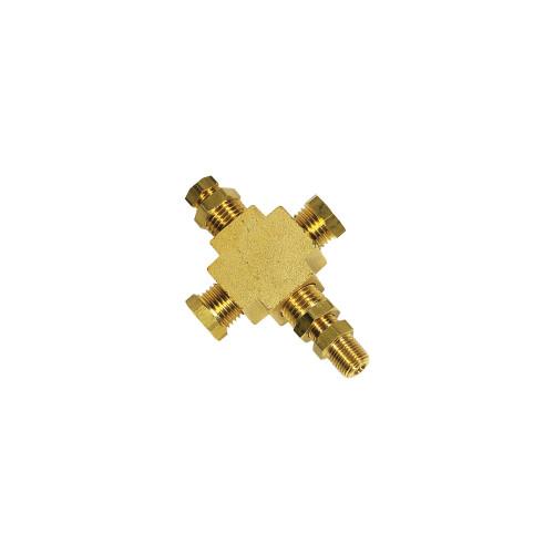 1/8-27 NPT T-Fitting Sensor Thread Adapter