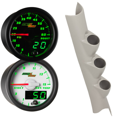 2010-2017 Dodge Ram Cummins MaxTow Custom Gauge Package