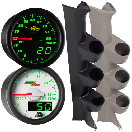 08-10 Ford Super Duty PowerStroke MaxTow Custom Gauge Package