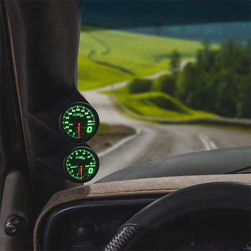 Green MaxTow Dual Gauge Package for 1994-1997 Dodge Ram Cummins