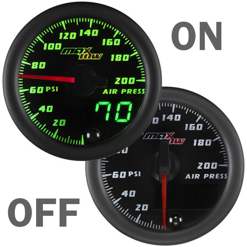 MaxTow Air Pressure Gauge On/Off