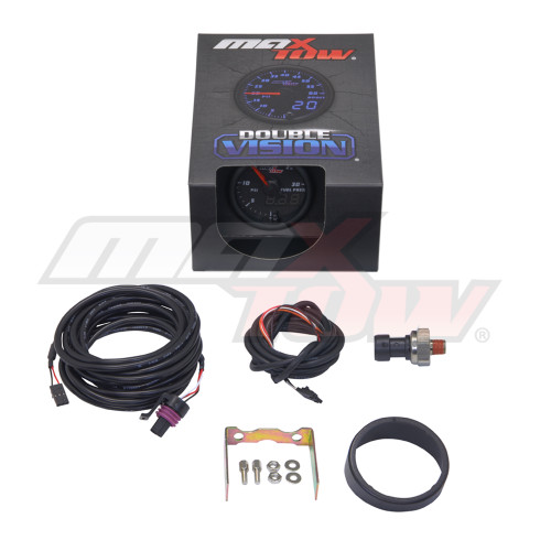 Black & Blue MaxTow 30 PSI Fuel Pressure Gauge Unboxed