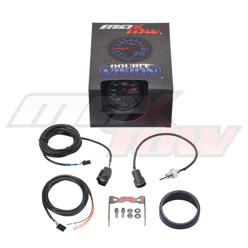 Black & Blue MaxTow Transmission Temperature Gauge Unboxed