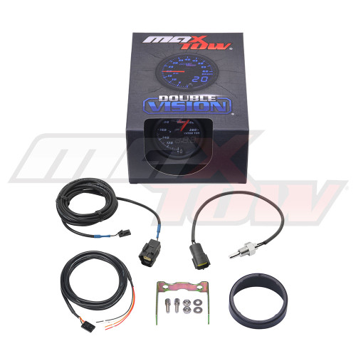 Black & Blue MaxTow Water Temperature Gauge Unboxed