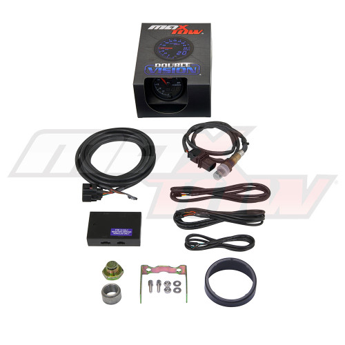 Black & Blue MaxTow Wideband Air/Fuel Ratio Gauge Unboxed