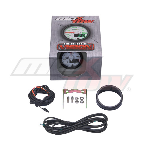 White & Green MaxTow HPOP Gauge Unboxed
