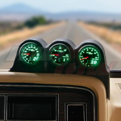 MaxTow 1986-1993 Dodge Ram Cummins Triple Dashboard Pod