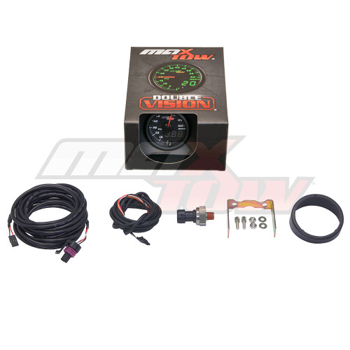 Black & Green MaxTow 100 PSI Boost Gauge Unboxed