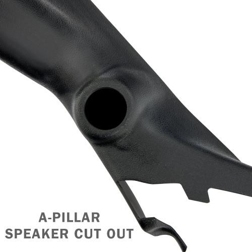 2009-2014 Ford F-150 Triple Pillar Pod with A-Pillar Speaker Cut Out
