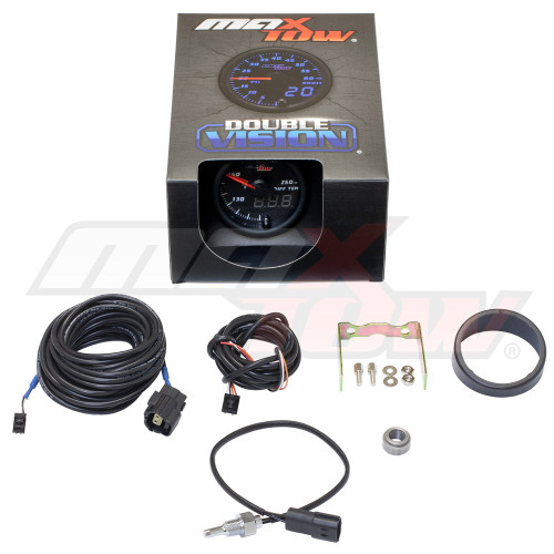 Black & Blue MaxTow Differential Temperature Gauge Unboxed