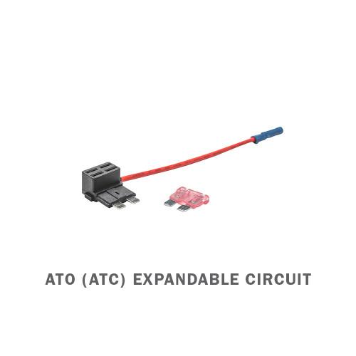ATO (ATC) Expandable Circuit & 4 Amp Fuse