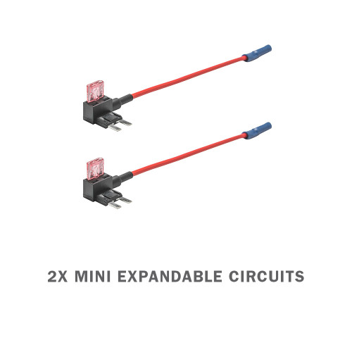 2 Pack - Mini Expandable Circuit & 4 Amp Fuse