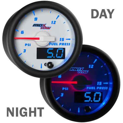 White & Blue MaxTow Double Vision Day/Night View