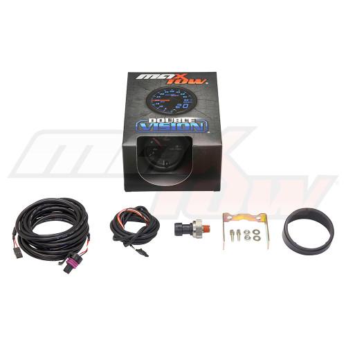Black & Blue MaxTow 15 PSI Fuel Pressure Gauge Unboxed