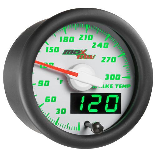 White & Green MaxTow Intake Temperature Gauge