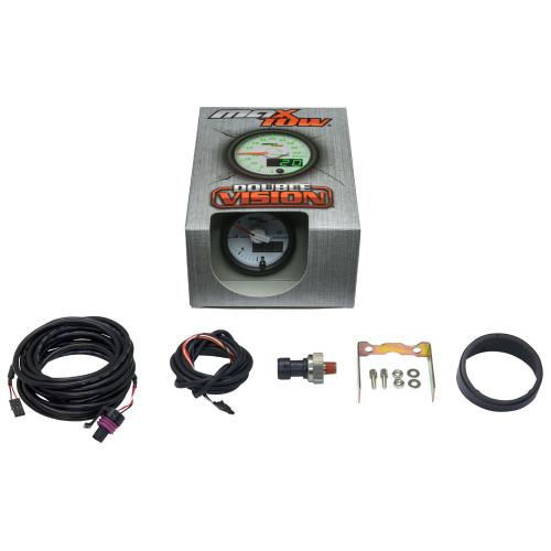 White & Green MaxTow 35 PSI Coolant Pressure Gauge