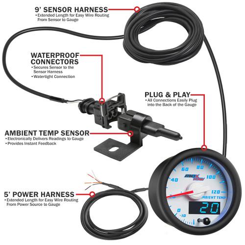 MaxTow Ambient Air Temperature Parts & Wiring Schematic