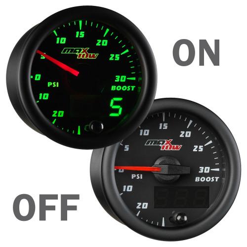 MaxTow Boost/Vac Gauge On/Off