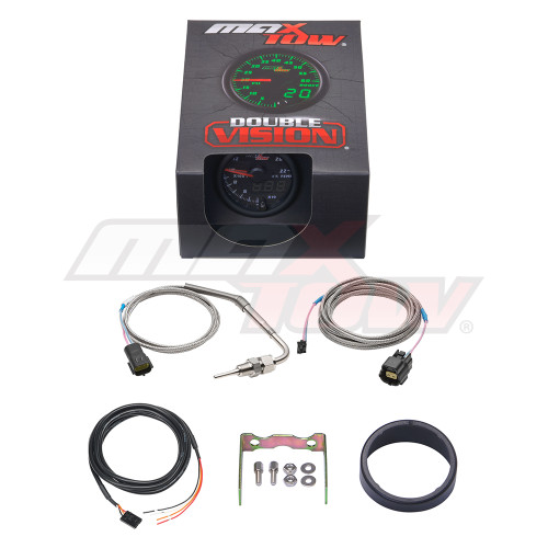 Black & Green MaxTow 2200 F Exhaust Gas Temperature Gauge Unboxed