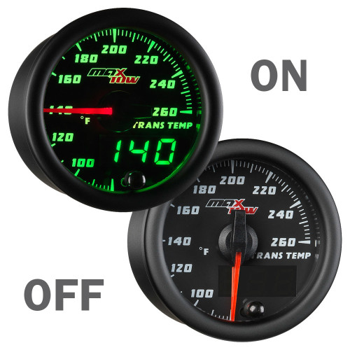 MaxTow Transmission Temperature Gauge On/Off