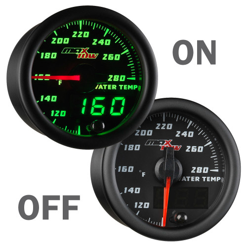 MaxTow Water Temperature Gauge On/Off