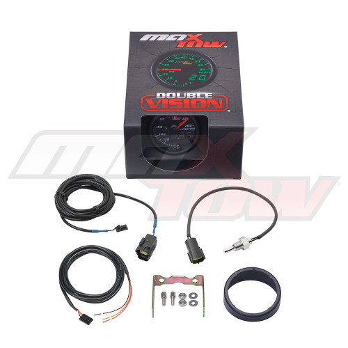 Black & Green MaxTow Water Temperature Gauge Unboxed