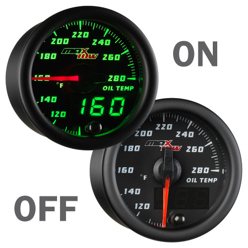 MaxTow Oil Temperature Gauge On/Off