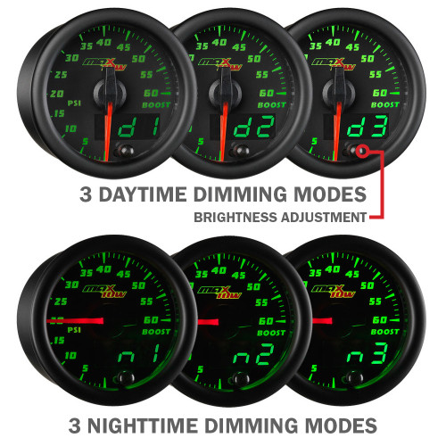 MaxTow Double Vision Daytime & Nighttime Dimming Modes