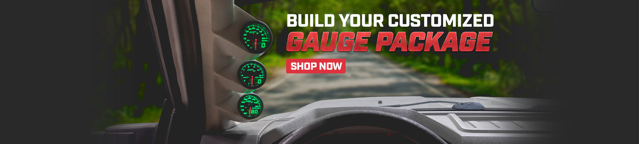 MaxTow Custom Gauge Packages