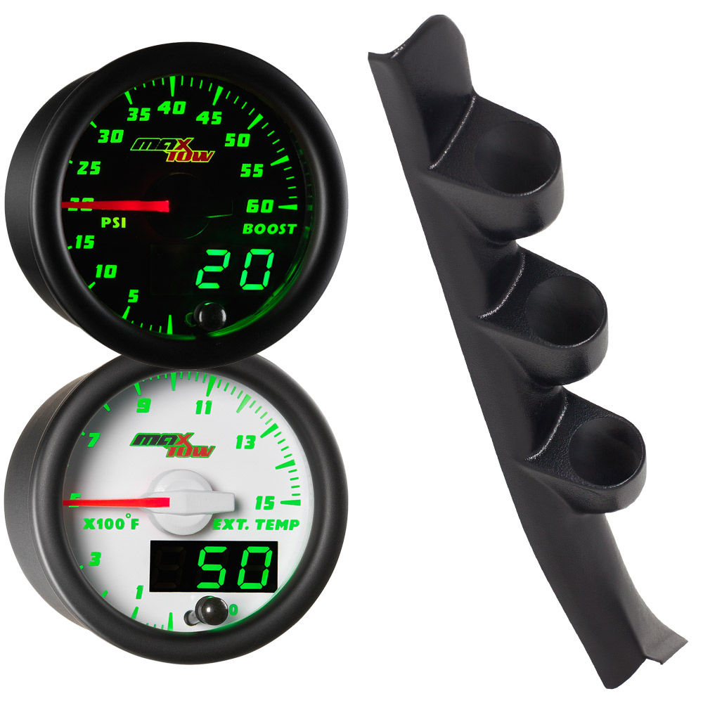 88-94 GMC Sierra Full Size Truck MaxTow Custom Gauge Package