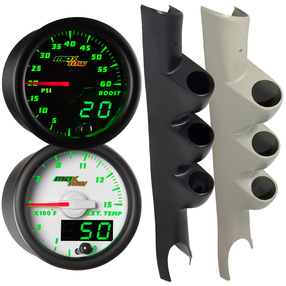 03-09 Dodge Ram Cummins MaxTow Custom Gauge Package