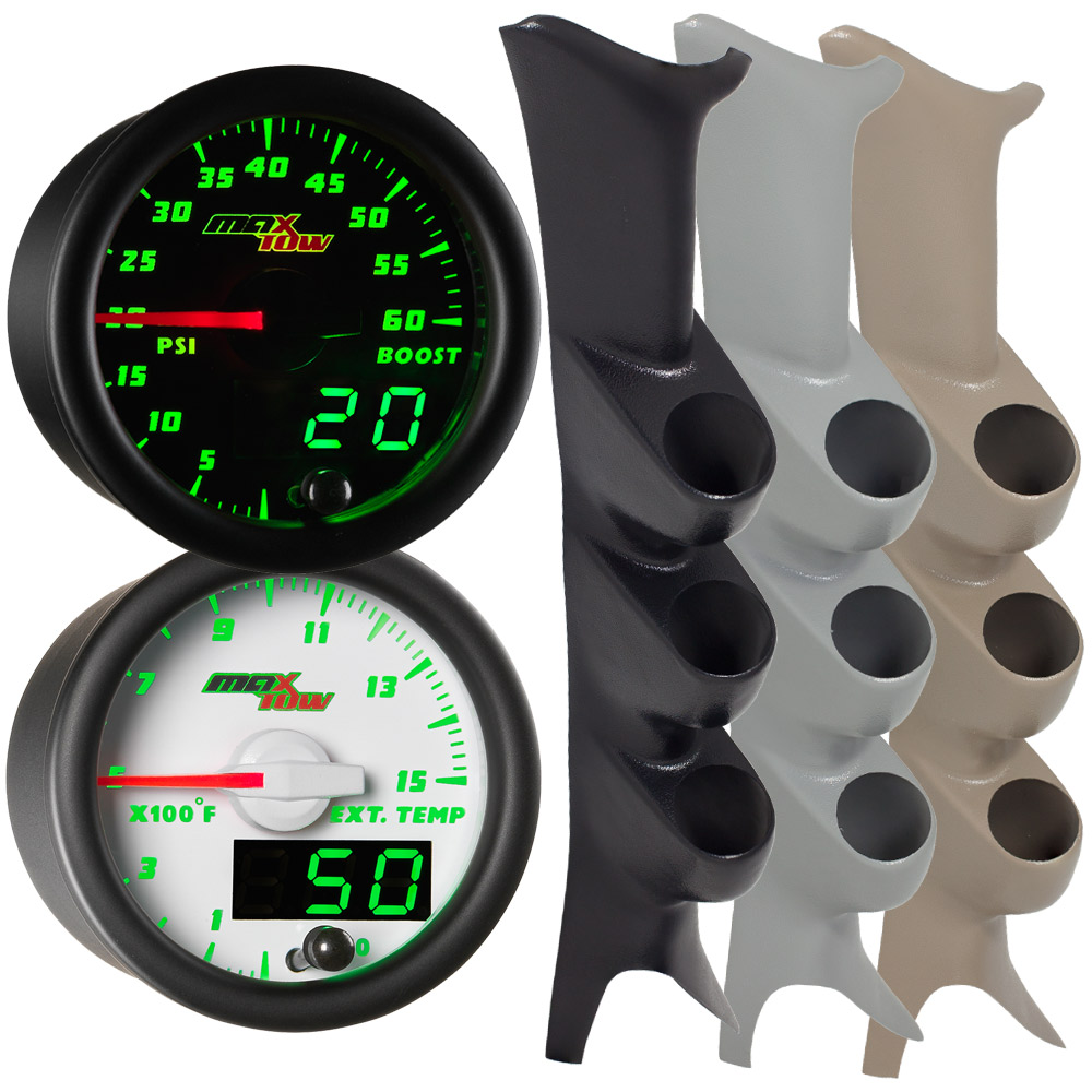 99-07 Ford Super Duty PowerStroke MaxTow Custom Gauge Package